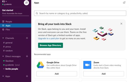 Come utilizzare Slack per collaborare e comunicare