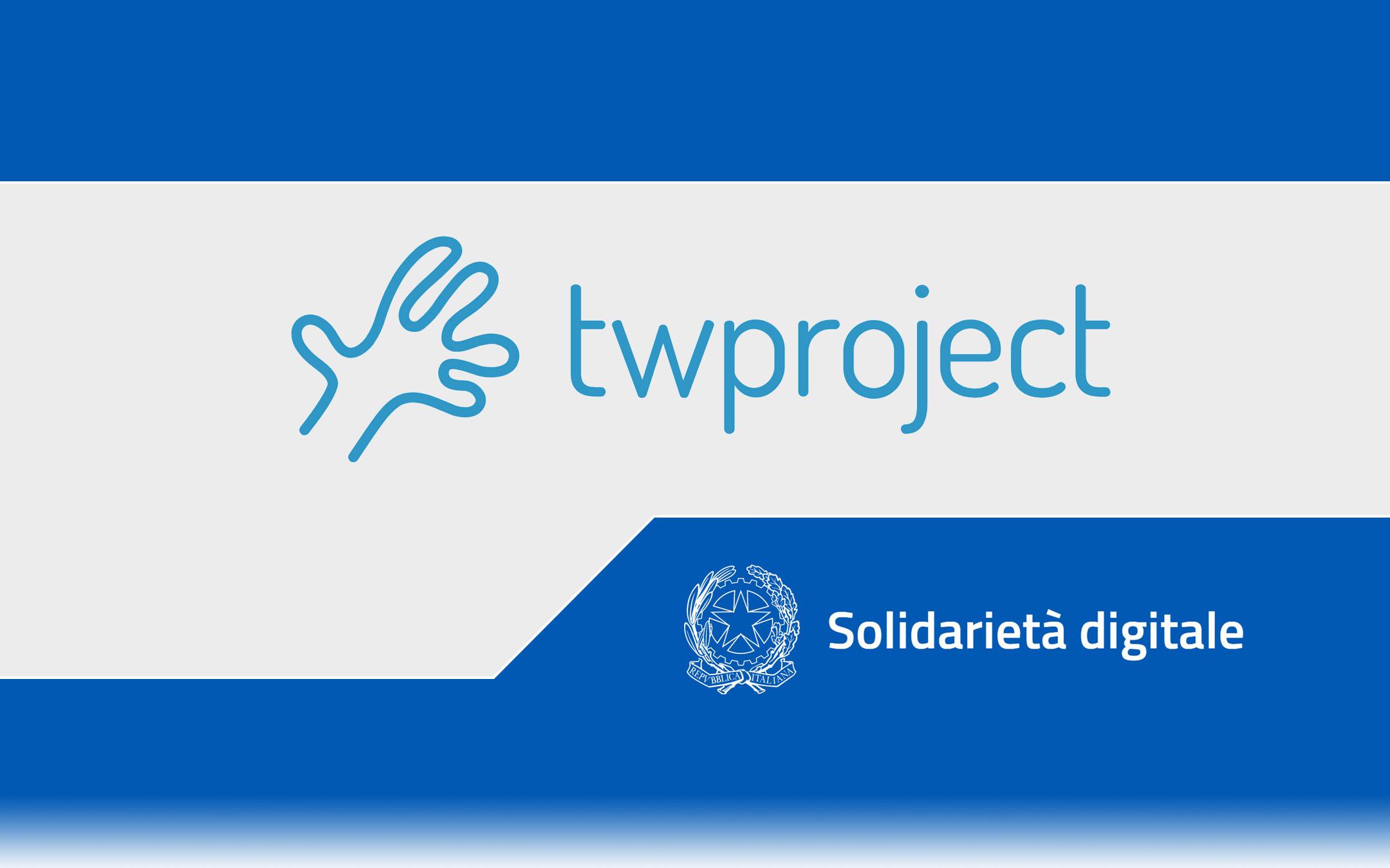 Solidarietà Digitale: Twproject per gestire i team